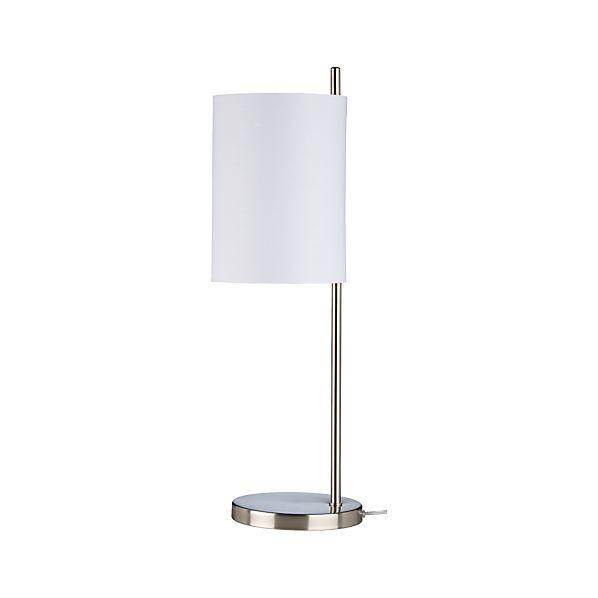 Balance Nickel Table Lamp