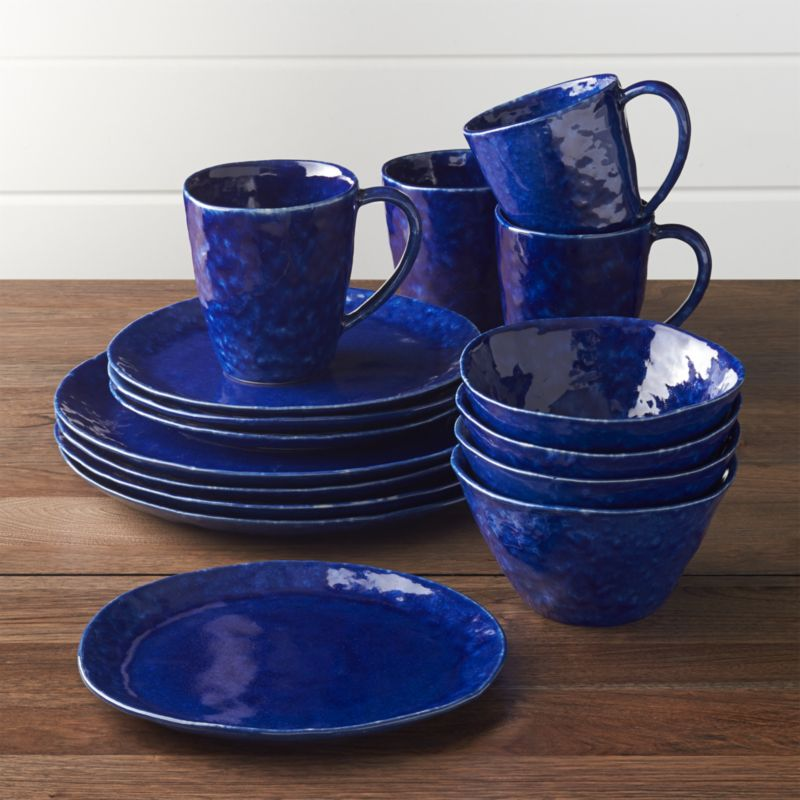 Baltic 16 Piece Dinnerware Set Crate And Barrel