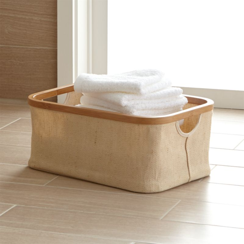 Bathroom Baskets Crate And Barrel