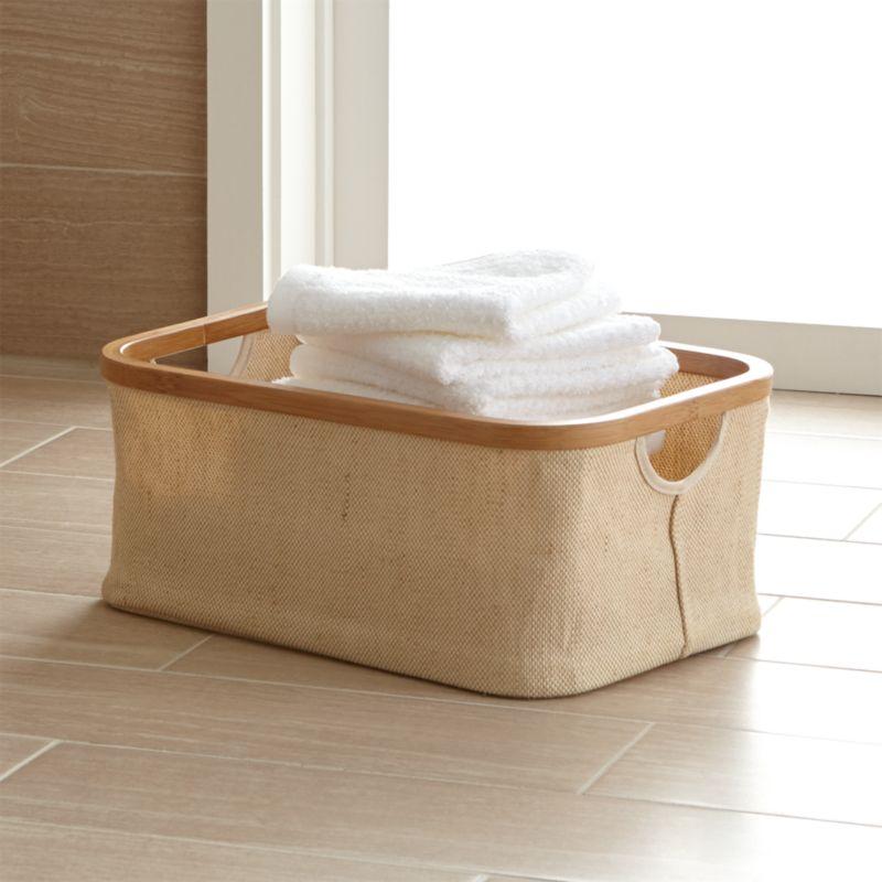 Bathroom Baskets bathroom baskets | crate and barrel