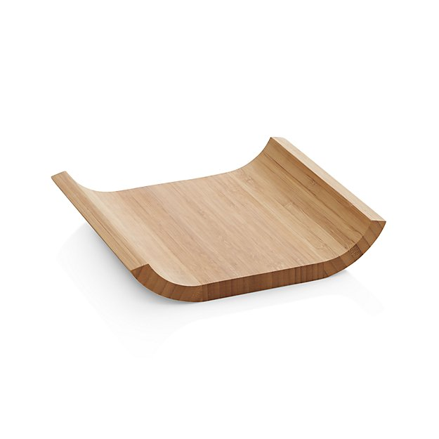 sc 1 st  Crate and Barrel & Bamboo Plate + Reviews   Crate and Barrel