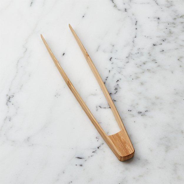 Bamboo Wok Tongs