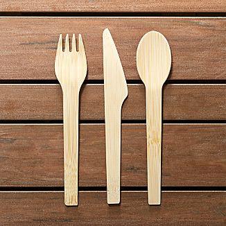 Bambu Flatware, Set of 8