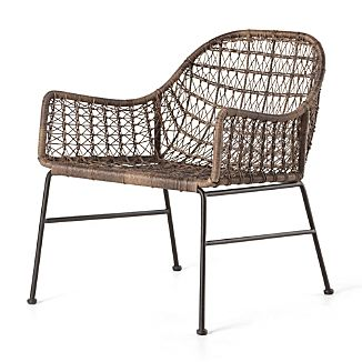 Bon Bandera Outdoor Woven Club Chair