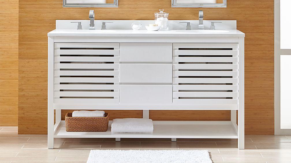 Crate And Barrel Bathroom Vanity Online Information