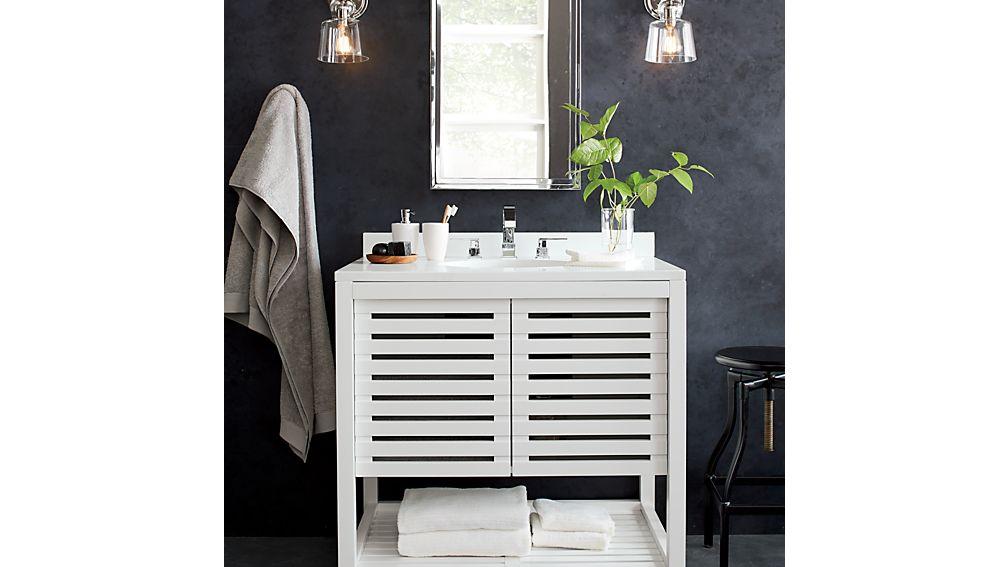 Banya Single Vanity Set