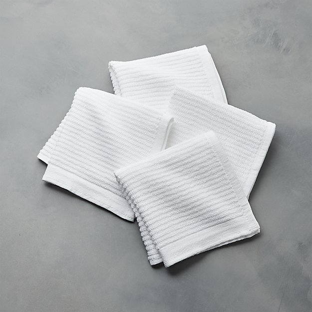 Set of 4 Bar Mop Dish Cloths