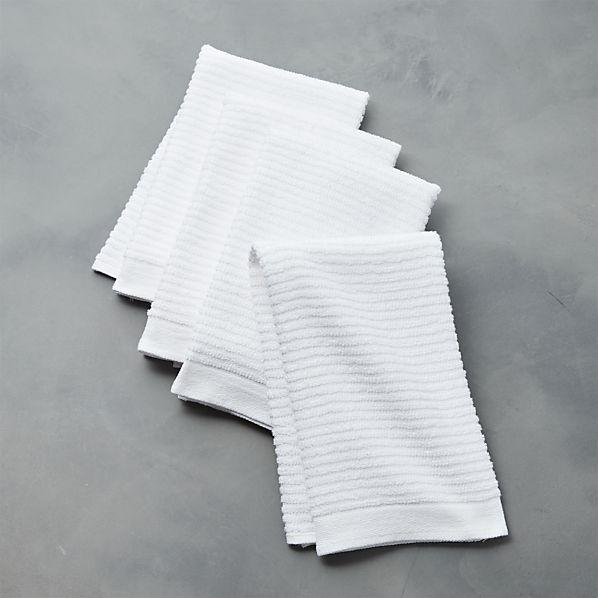 Set of 4 Bar Mop Dish Towels