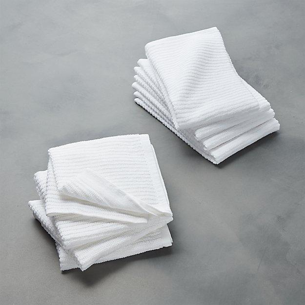 Bar Mop Dish Cloths and Dish Towels, Sets of 4 - Image 1 of 2