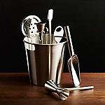 Bar Tool Set Silver