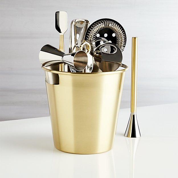 Bar Tool Set Gold - Image 1 of 7