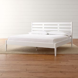 Barnes White King Bed