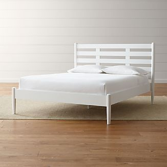 Barnes White Queen Bed