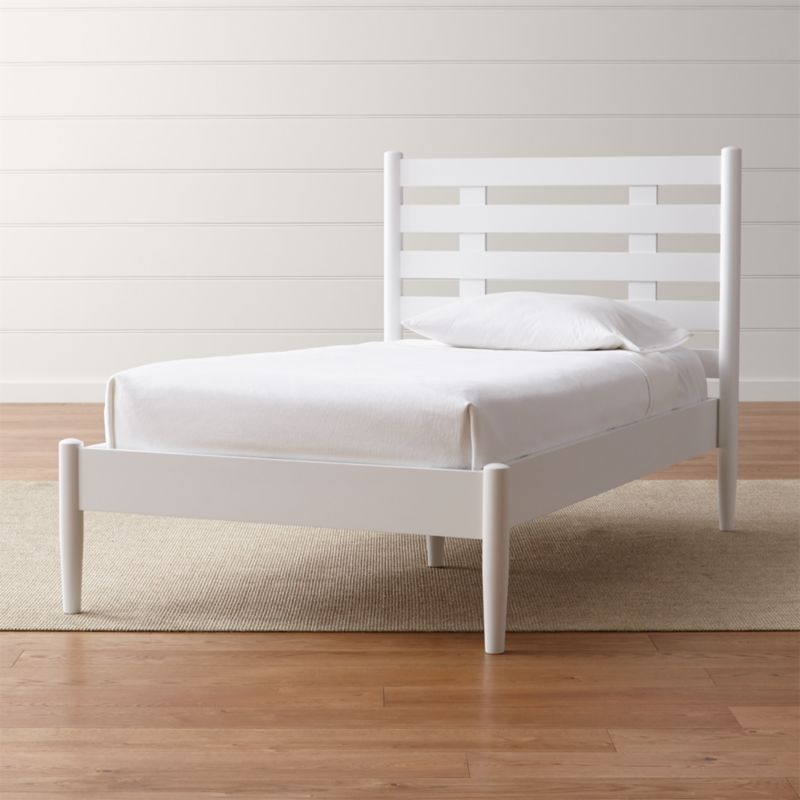 white twin bed. White Twin Bed \