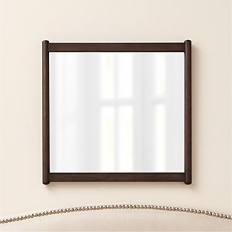 Barnes Smoke Brown Rectangular Wall Mirror