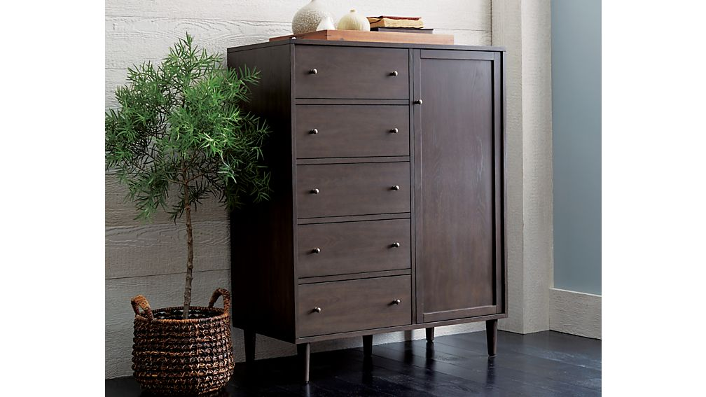 Barnes Smoke Brown Wardrobe