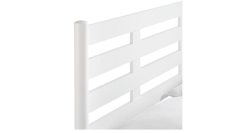 Barnes White King Bed