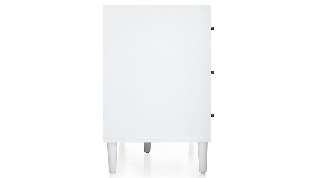 Barnes White 7-Drawer Dresser