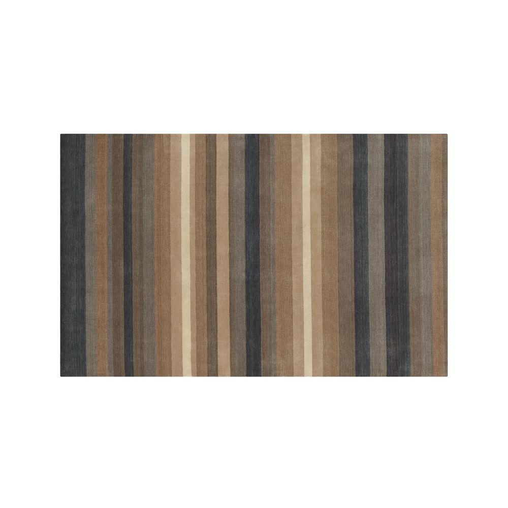 Barnett Wool 5'x8' Rug - Crate and Barrel