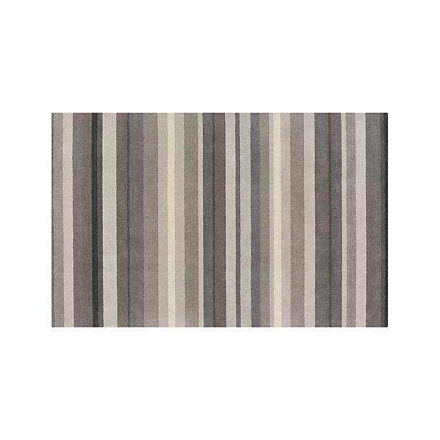 Barnett Grey 6'x9' Rug