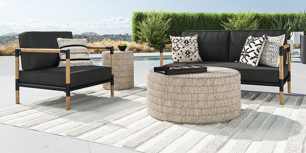 Outdoor Patio Lounge Furniture | Crate and Barrel
