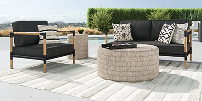 Outdoor Furniture Collections: Dining and Lounge | Crate and ...