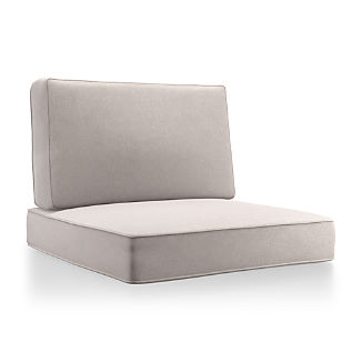 Barra Silver Sunbrella ® Lounge Chair Cushions