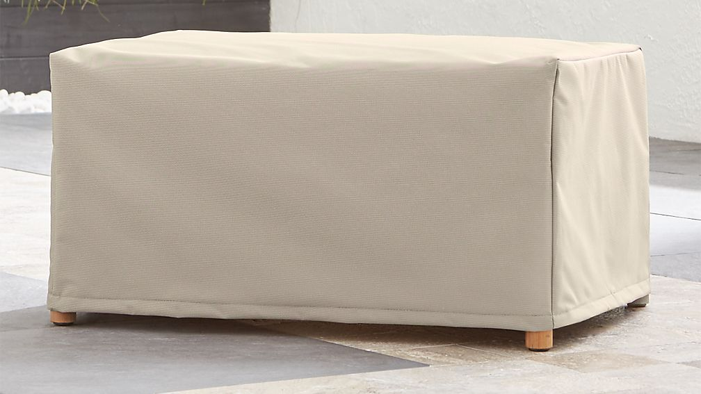 Barra Ottoman Cover Reviews Crate And Barrel