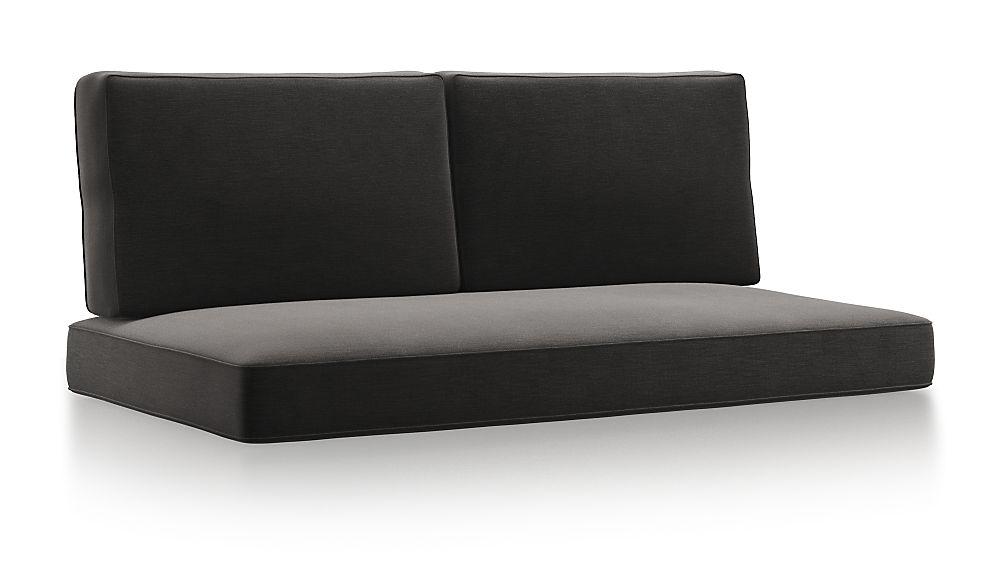 Barra Charcoal Sunbrella ® Sofa Cushions - Image 1 of 2
