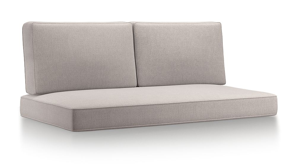 Barra Silver Sunbrella ® Sofa Cushions - Image 1 of 2