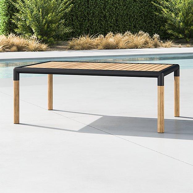 Barra Teak/Metal Coffee Table - Image 1 of 2