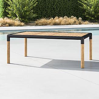 Barra Teak/Metal Coffee Table
