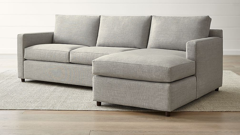Barrett Ash 2 Piece Right Arm Chaise Sectional Reviews