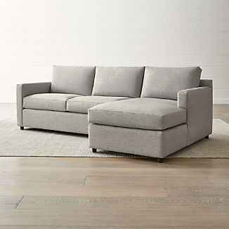L Shaped Sofas   Crate and Barrel