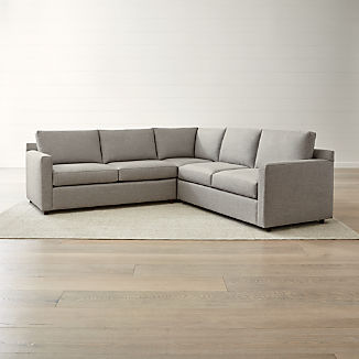 Contemporary Sectional Sofas | Crate and Barrel