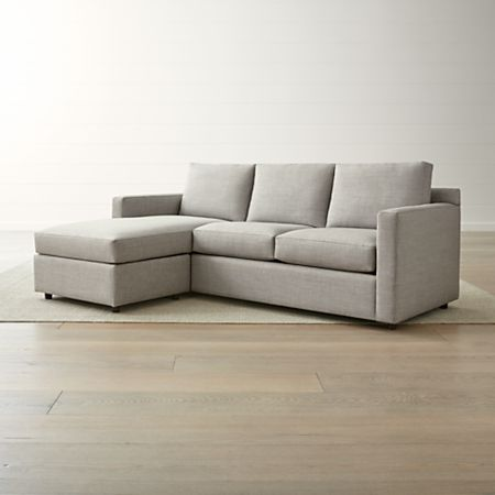 Fabulous Barrett 3 Seat Queen Reversible Sleeper Sectional Cjindustries Chair Design For Home Cjindustriesco