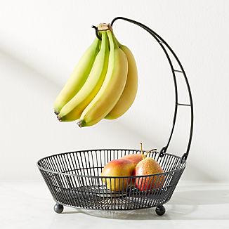 Barrett Banana Holder with Basket Graphite