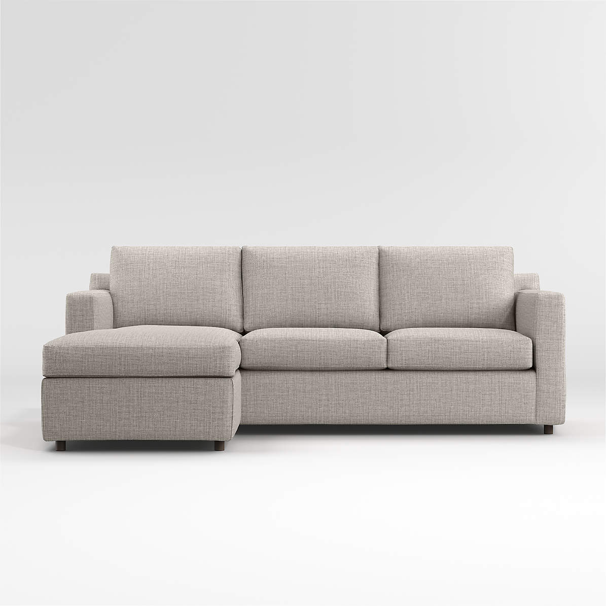 Barrett 3 Seat Queen Reversible Sleeper Sofa With Reviews Crate And Barrel