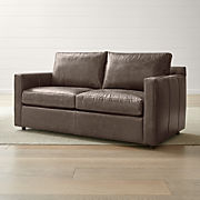 Excellent Leather Sleeper Sofas Crate And Barrel Dailytribune Chair Design For Home Dailytribuneorg