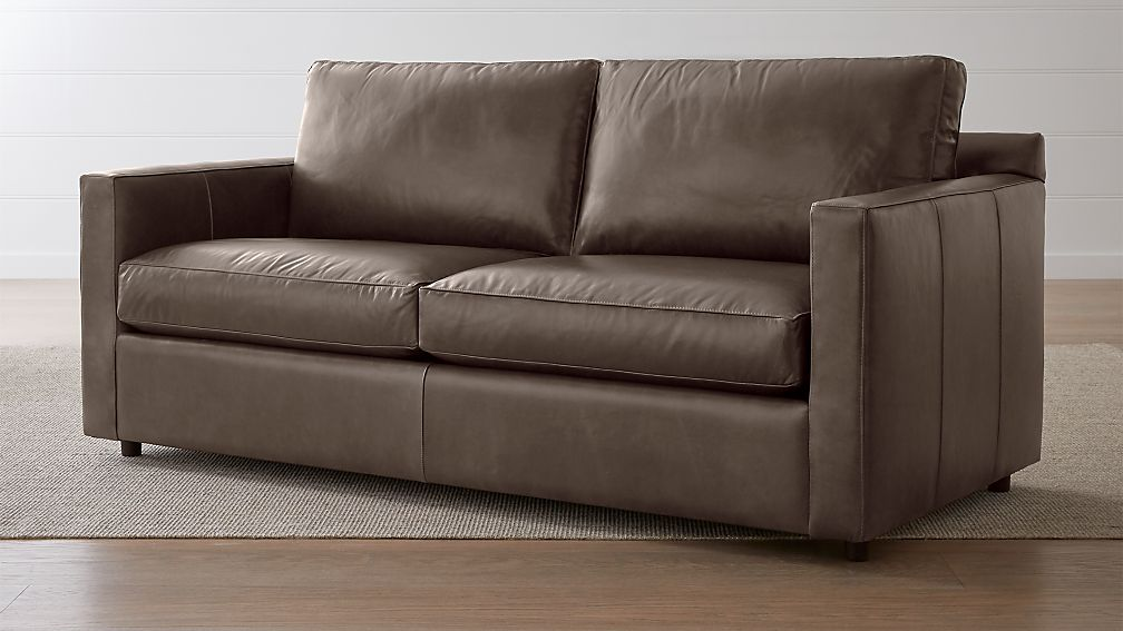 Barrett Leather Track Arm Sofa - Image 1 of 6