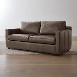 Leather Sofa Beds | Crate and Barrel