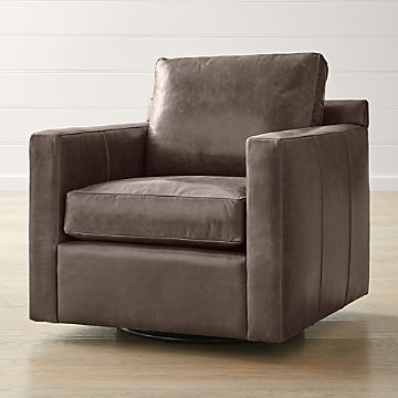 Living Room Chairs Accent Swivel Crate And Barrel