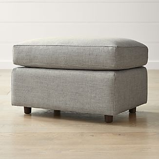 Ottomans Made In Usa Crate And Barrel
