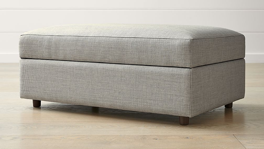 Barrett Storage Ottoman - Image 1 of 4