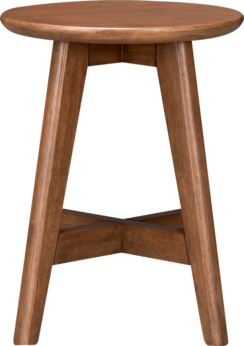 Our classic, versatile stool takes a clean and simple stance in solid rubberwood stained a rich walnut and provides an extra perch for smaller spaces, bath, vanity or porch. Crossbar brace makes a comfortable footrest.<br /><br /><NEWTAG/><ul><li>Solid rubberwood</li><li>Lacquer finish</li></ul><br />