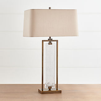 Barton Gl And Metal Table Lamp