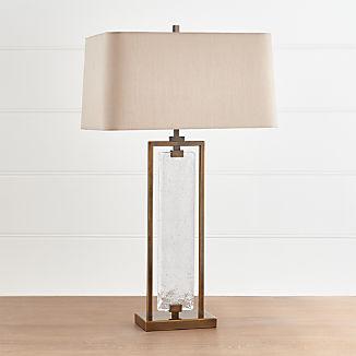 Barton Glass and Metal Table Lamp