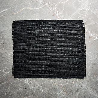 Basa Black Placemat