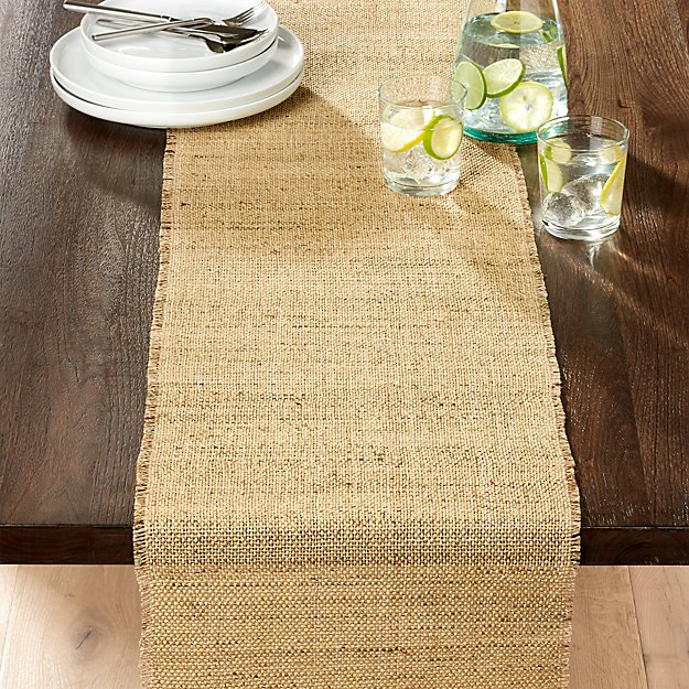 "Basa Natural 90"" Table Runner"