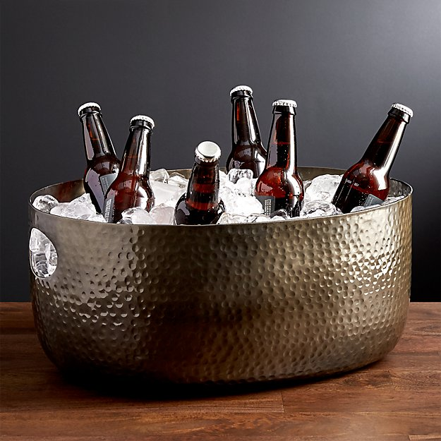 Bash Graphite Beverage Tub Reviews Crate And Barrel